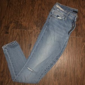 Joe's Jeans Skinny Ankle distressed style